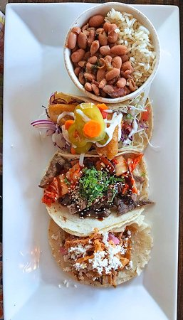 Lyons, CO : taco plate