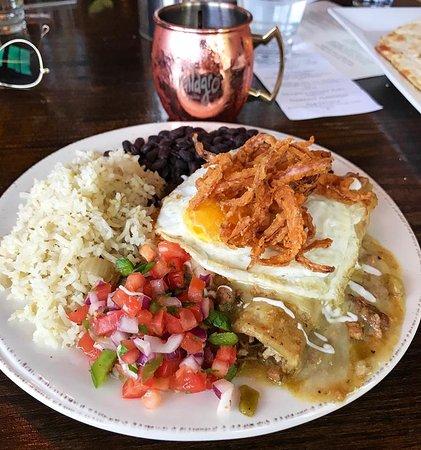 Lyons, CO : enchiladas