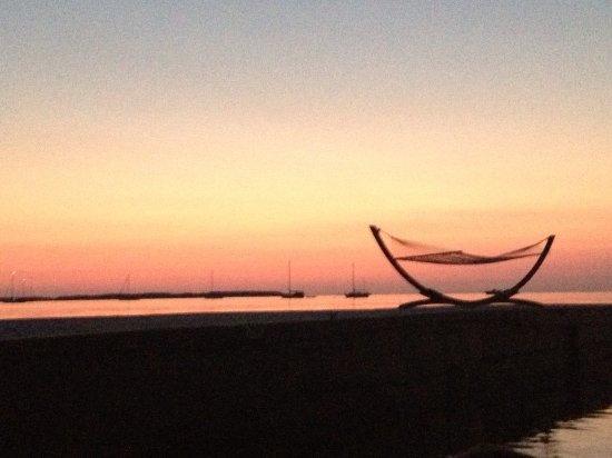 Casa Morada: Sunset off the point