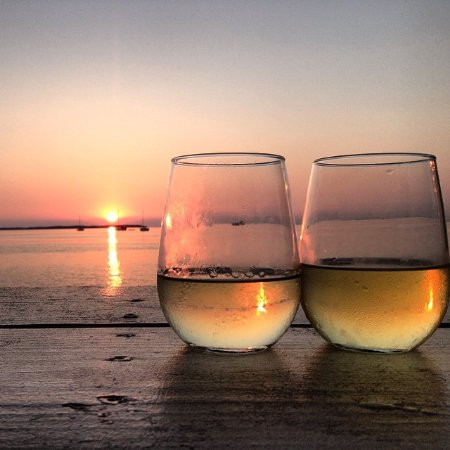 Casa Morada: Sunset drinkies