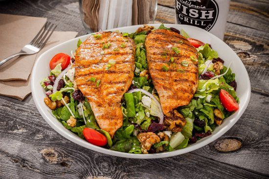 Redlands, CA: Cajun Salmon Salad