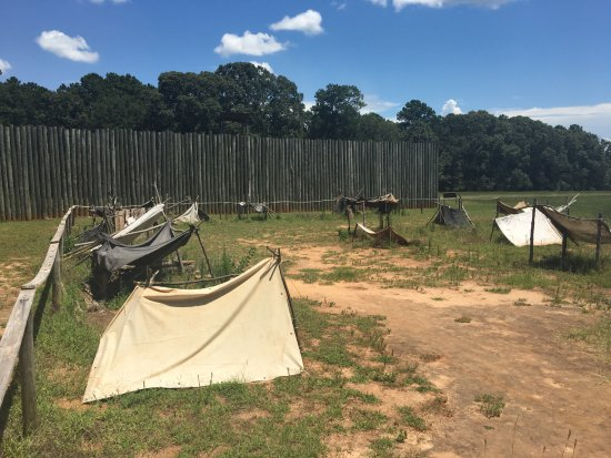 Andersonville National Historic Site and National Prisoner of War Museum : Andersonville Camp Sumter