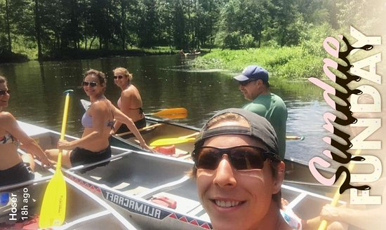 Hiram, OH: Canoeing down the Cuyahoga River
