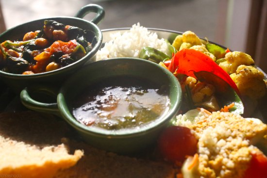 Sivananda Ashram Yoga Retreat: Lacto-vegetarian Food