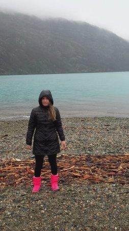 Desery w lokalizacji Lago Puelo