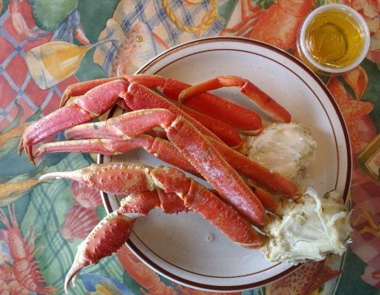 Preston's Family Seafood Restaurant: re-order of crab legs