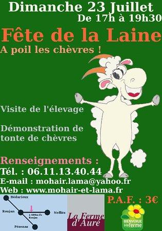 Roujan, Frankrike: Fête de la Laine 2017