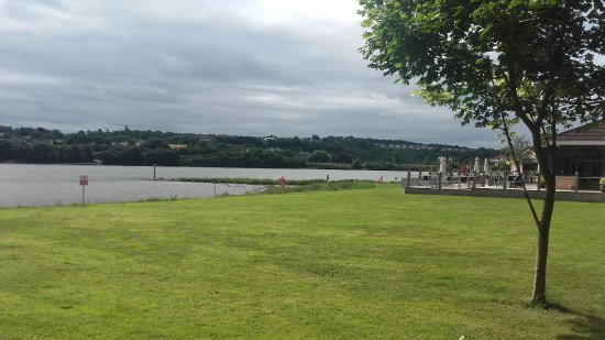 Ferrycarrig, Irlanda: View from our ground floor bedroom