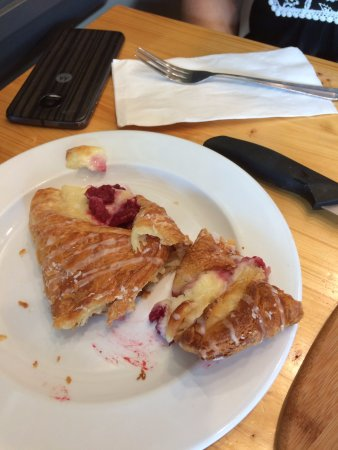 Harper & Madison: Raspberry and Cream Cheese pastry
