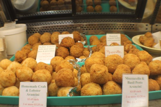 North Syracuse, État de New York : Homemade Arancini (Italian rice ball made with risotto and other ingredients)