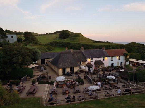 Osmington Mills, UK: View from outside