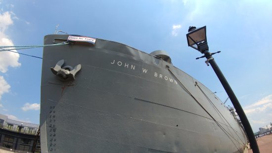 S.S. John W. Brown: Ahoy!