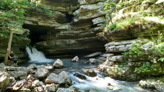 Blanchard Springs Recreation Area: The Springs