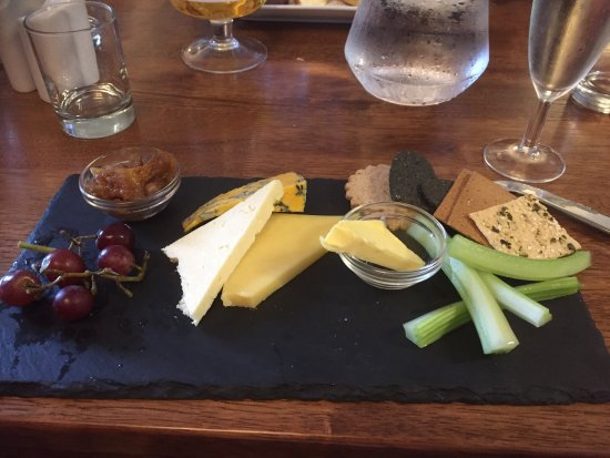 The Station Hotel: Yorkshire Cheese Board