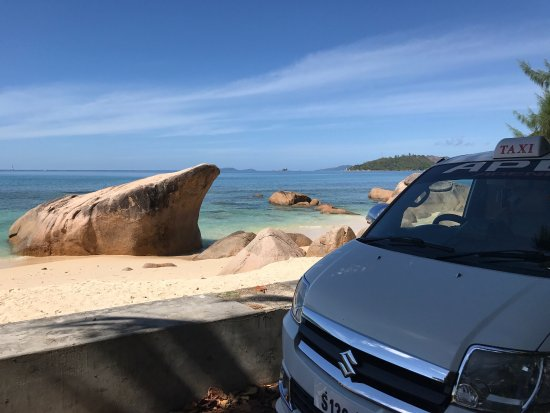 Anse Boudin : Taxi Services and Island Tours A well day spend on the island tours on praslin, seychelles.