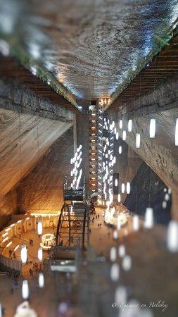 Turda, Rumunia: Inside Rudolf Mine.