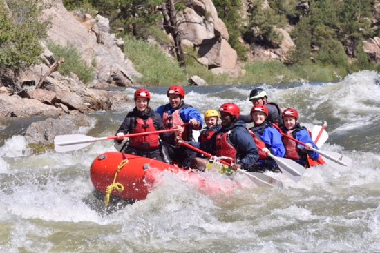 Buena Vista, CO: Awesome day rafting Brown's Canyon.
