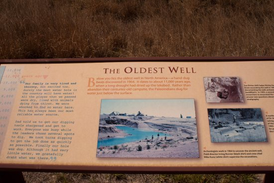 Portales, NM: The oldest well sign