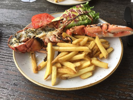 Rock, UK: Lobster Lunch from the Specials Board