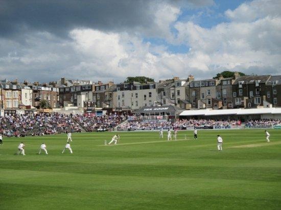 Scarborough Cricket Club: Forward defensive and Tea Room