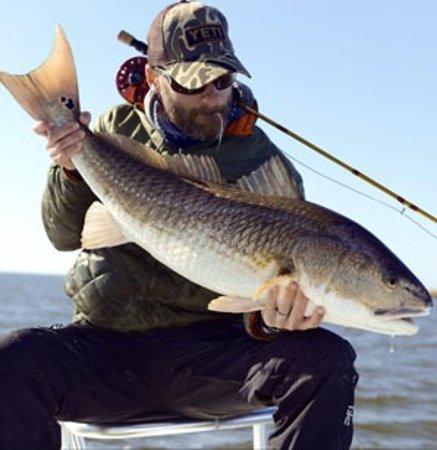 Santa Rosa Beach, FL: Louisiana Redfish Guided by Patrick Tarpey of Slow and Low Coastal Outfitters