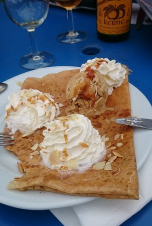 Plestin-les-Grèves, France : dessert