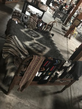 Elberton, GA: Handcrafted alapaca fiber blanket, scarves, and sweaters