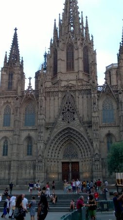 Hotel Barcelona Catedral: cathedral 2 minutes away