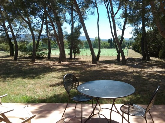 Madame Vacances Residence Provence Country Club: vue terrasse