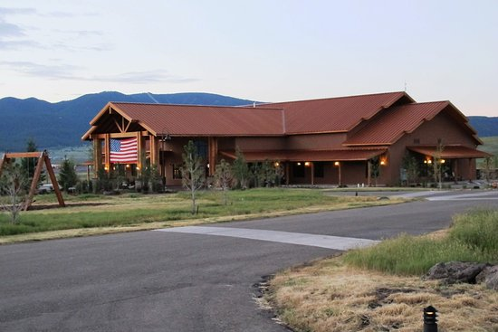 Angel Fire, NM: The Main Check-In / Registration Lodge