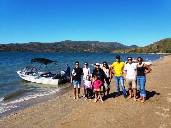 Pacífico Sul: Arrivée sur l'île de PAM.