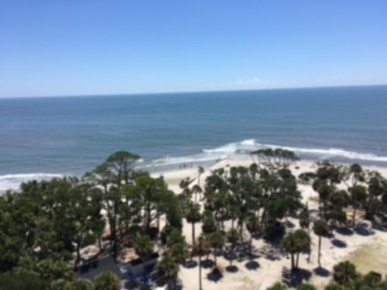Hunting Island State Park: View from Hunting Island lighthouse