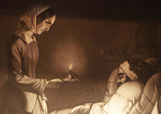 the life of the lady of the lamp florence nightingale Known as the 'lady with the lamp', florence nightingale revolutionised nursing and reformed hospitals she dedicated her life to the helpless and miserable.