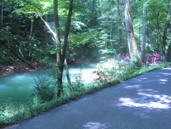 Lost River Cave: the river