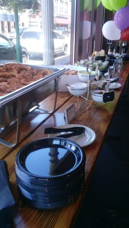Noblesville, IN: Our buffet table for a special event