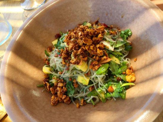 Platis Yialos, Grækenland: Noodle salad