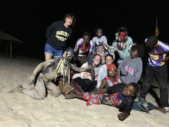 Nkhotakota, Malawi: Gulewamkulu dancers