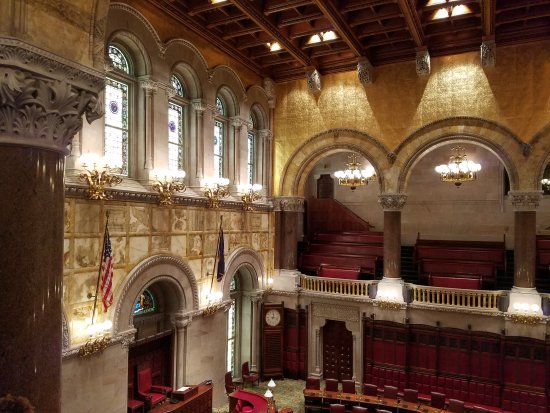 New York State Capitol: Architectural masterpiece!