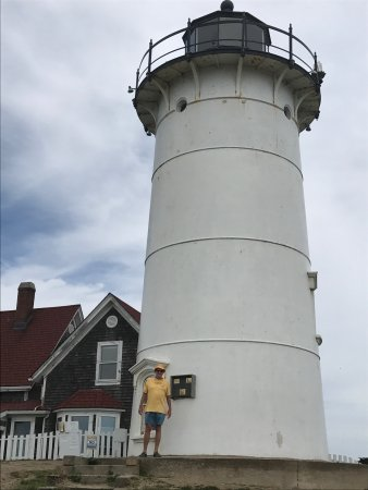 ‪‪Woods Hole‬, ماساتشوستس: A view of the lighthouse.‬