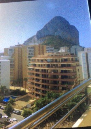 HOTEL SH IFACH: El Peñón de Ifach desde la planta sexta del hotel.