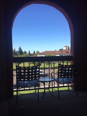 Ронерт-Парк, Калифорния: Balcony view from room
