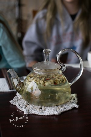 Smith River, Kalifornia: Chrysanthemum tea