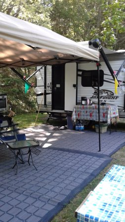 Dunnville, Canada: Enjoying the campsite
