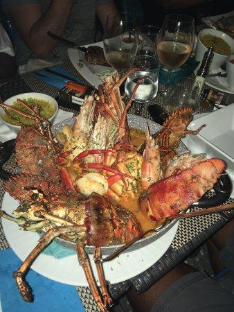 Capesterre, Guadalupe: Zarzuela ! Un seul conseil, il ne faut pas partir sans avoir mangé ce plat. C'est une tuerie