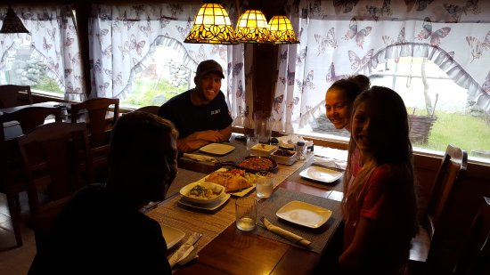 Copper Center, AK: Best dinner of our trip!!