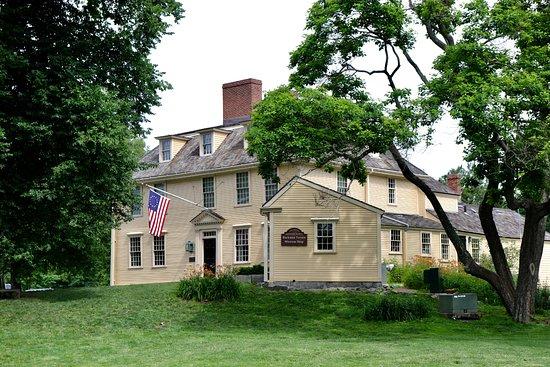 Lexington, ماساتشوستس: Exterior of Buckman Tavern, Lexington MA