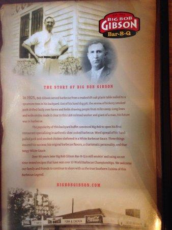 Decatur, AL: Big Bob Gibson's Bar-B-Que