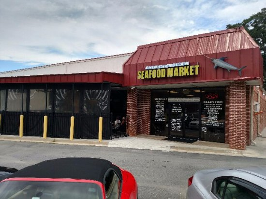 Gainesville, جورجيا: Seafood yes!