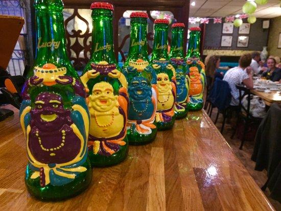 Michael Wan's Mandarin Cantonese Restaurant: Try our new Lucky Buddha beer :-)