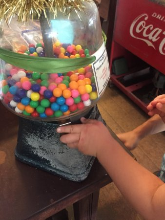 Keauhou Store: Old school gumball machine